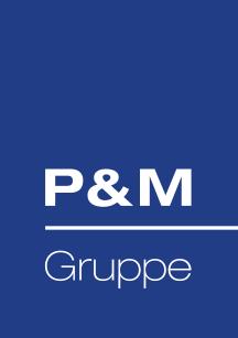 Logo P&M-Gruppe